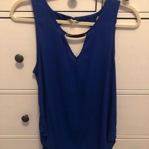 Dressy sleeveless top